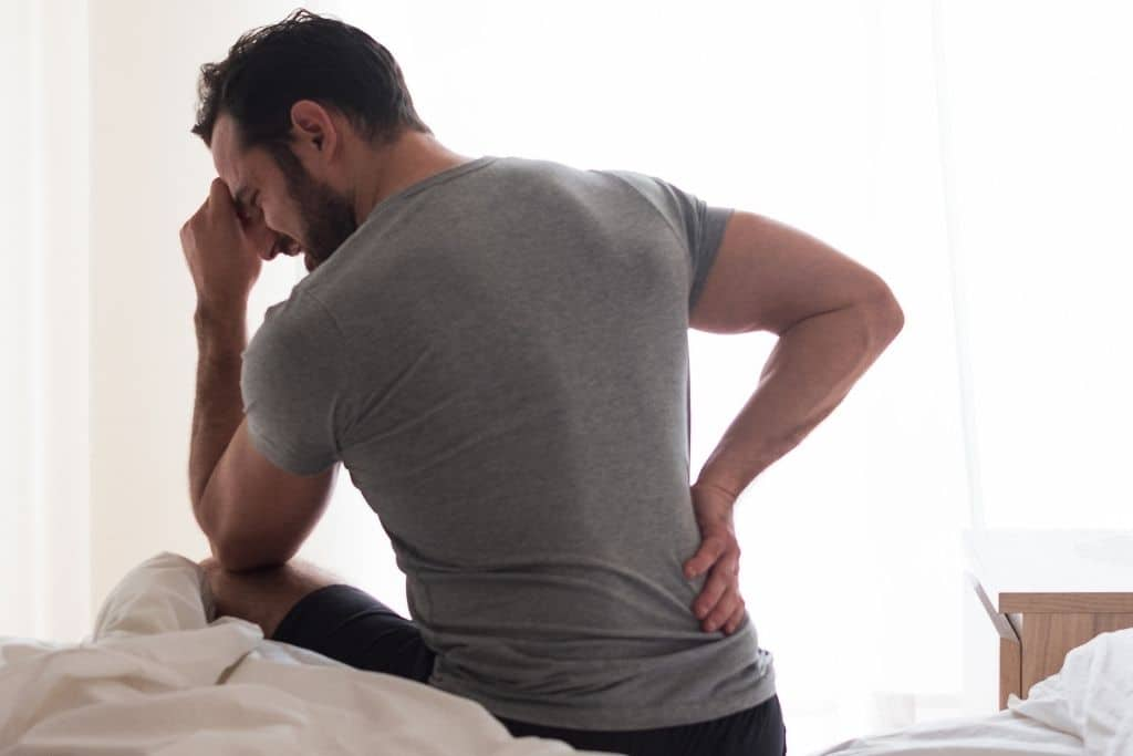 slipped disc back pain